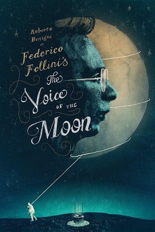 La voce della luna poster