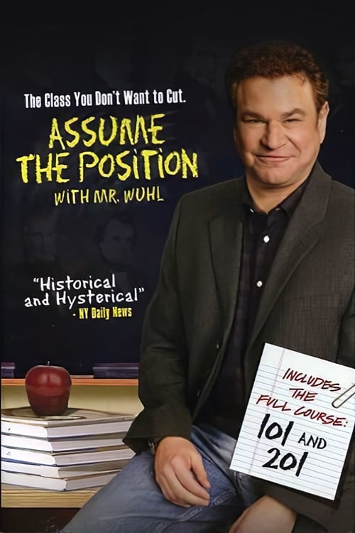 Filme Assume the Position 201 with Mr. Wuhl Grátis Em Português