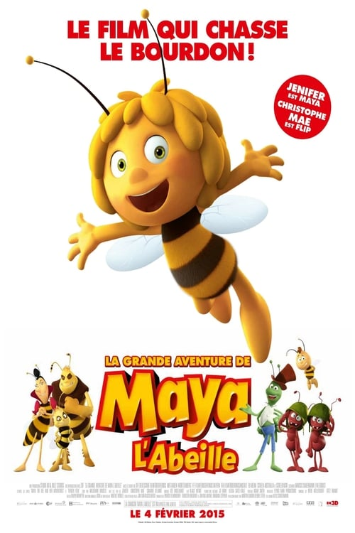 Visualiser La Grande aventure de Maya l'abeille (2014) streaming vf