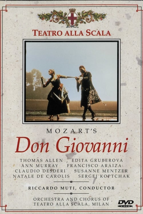 Largescale poster for Don Giovanni