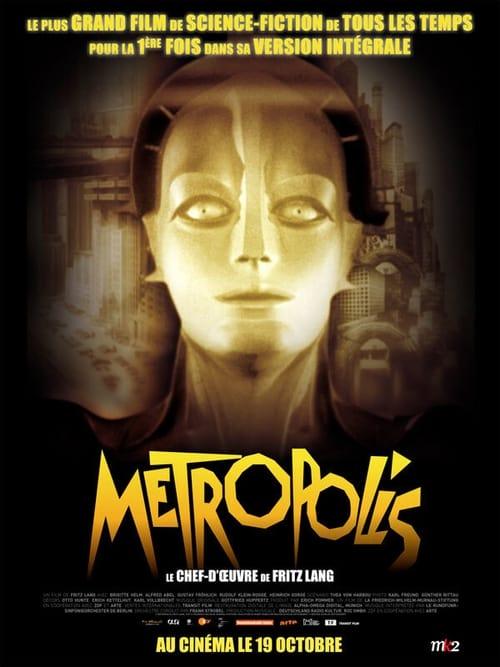 Regarder Metropolis (1927) Streaming HD FR
