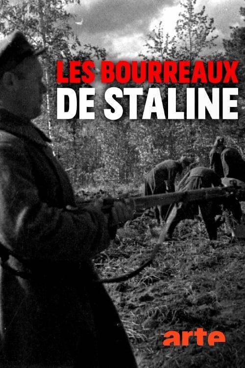 Poster von Stalins Henker. Das Massaker von Katyn