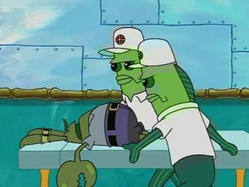 SpongeBob SquarePants: Season 3 – Episode Born Again Krabs