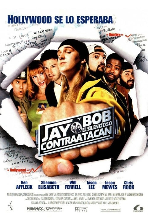 Jay and Silent Bob Strike Back pelicula completa