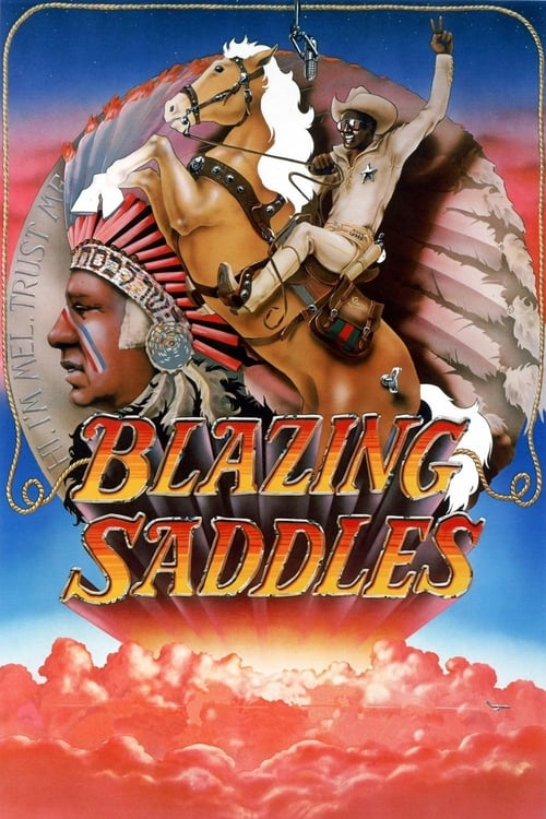 Poster for Blazing Saddles