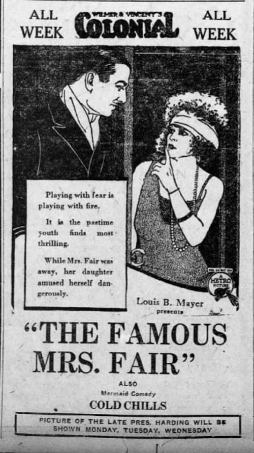 The Famous Mrs. Fair (1923)