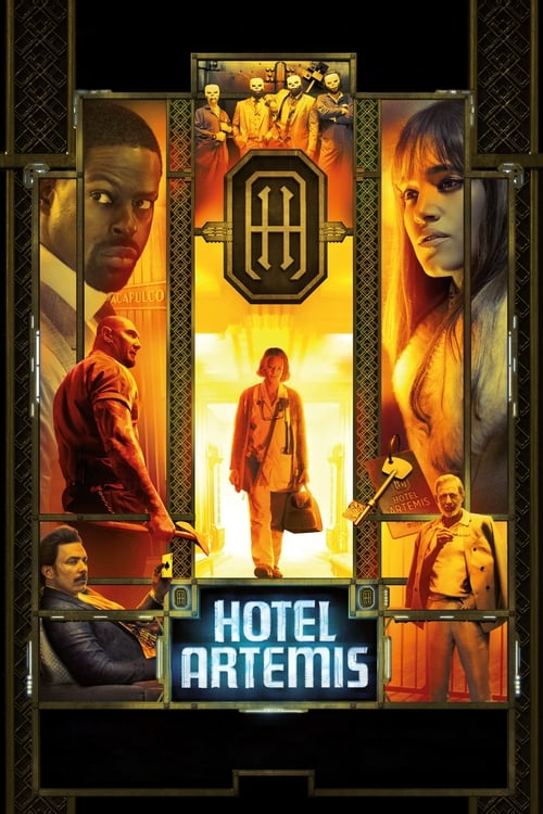 Poster. Hotel Artemis (2018)