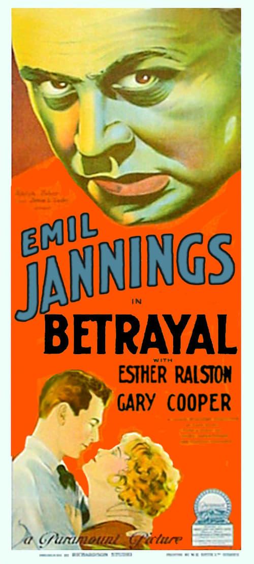 Betrayal (1929)