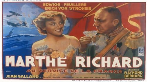 Marthe Richard, au service de la France