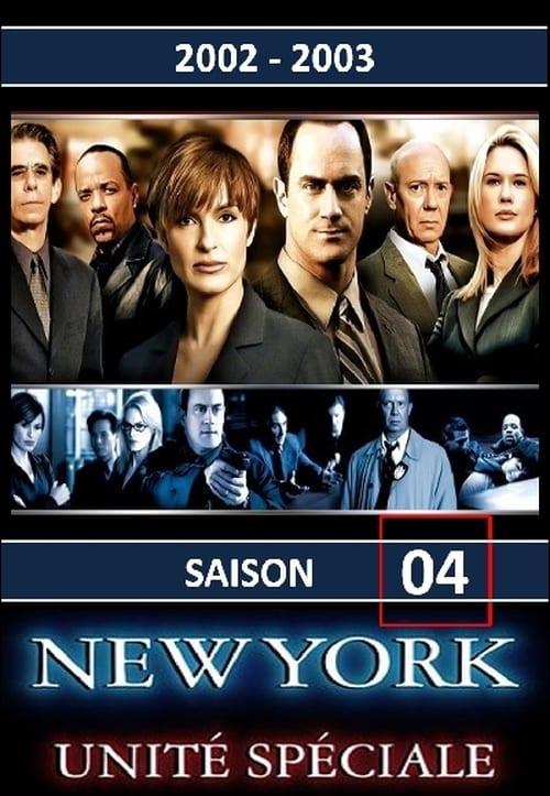New York Unité Spéciale: Saison 4