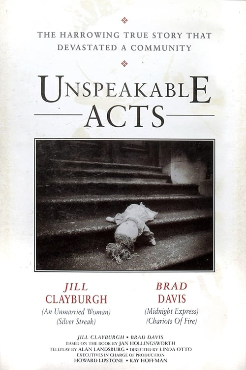 Unspeakable Acts (1990) Poster
