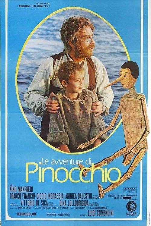 Mira Las aventuras de Pinocho Completamente Gratis