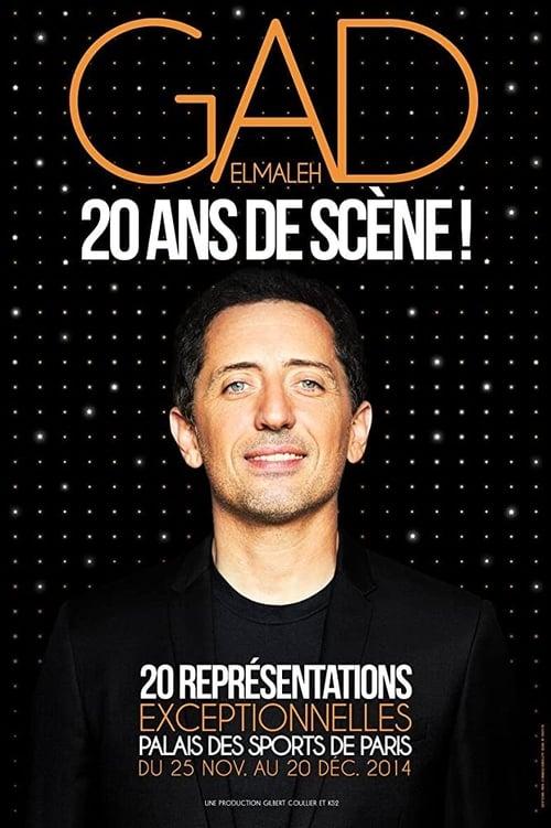 Gad Elmaleh – 20 ans de scène ! (2015)
