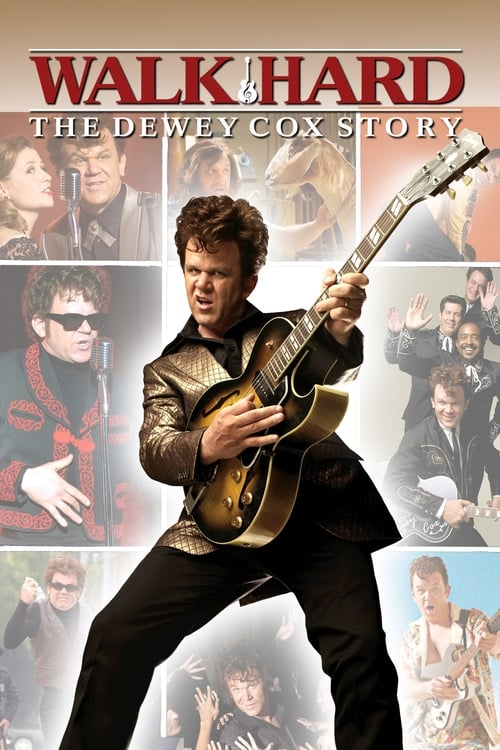 The poster of Walk Hard: The Dewey Cox Story