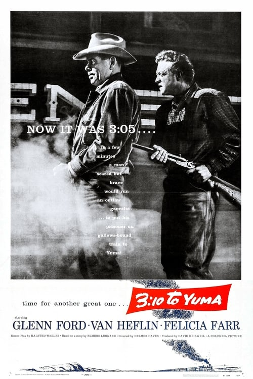 Watch 3:10 to Yuma (1957) Movie Free Online