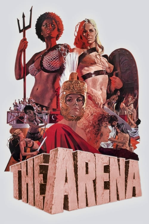 The poster of The Arena