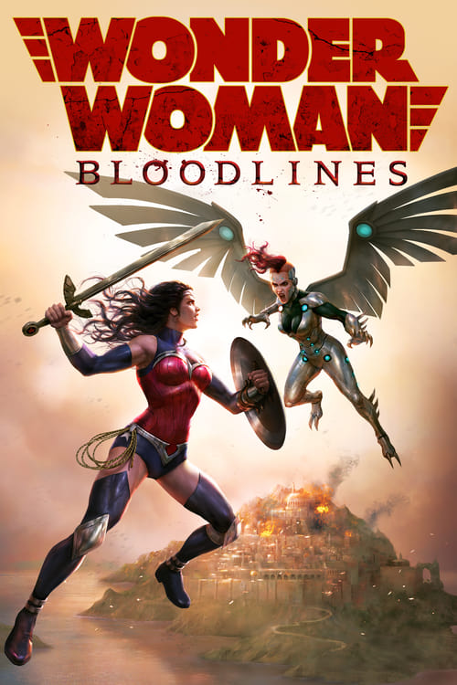 Streaming Wonder Woman: Bloodlines (2019) Full Movie