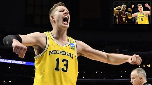 NCAA Basketball Tournament 2018 Michigan vs. Loyola (Chicago)