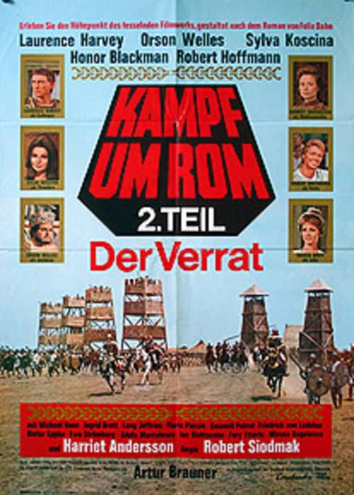 Mira La Película Kampf um Rom II - Der Verrat En Español En Línea