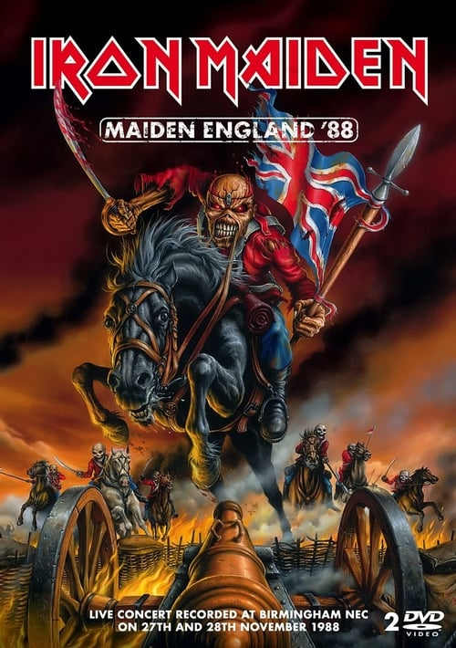 Largescale poster for Iron Maiden: Maiden England '88