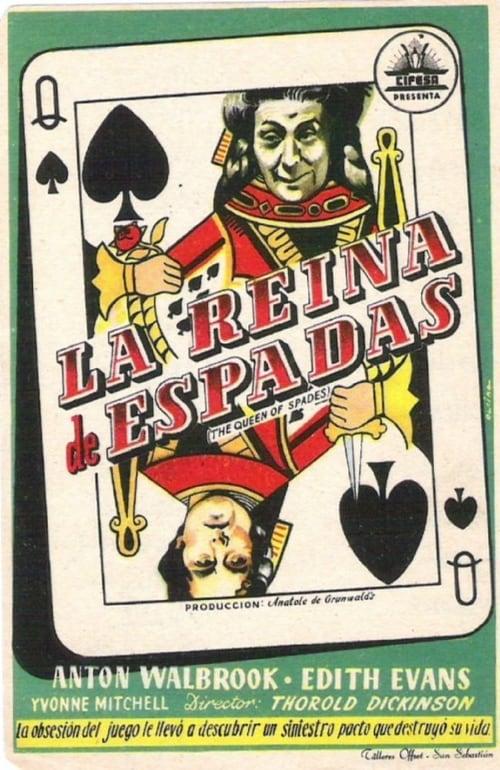 Watch La dama blanca (Reina de espadas) Doblado En Español