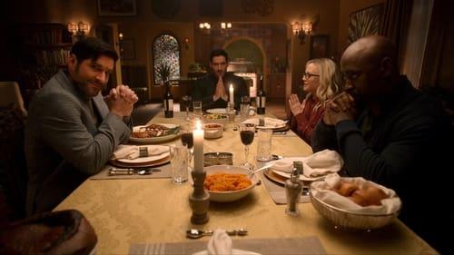 Lucifer - Season 5 - Episode 9: family dinner