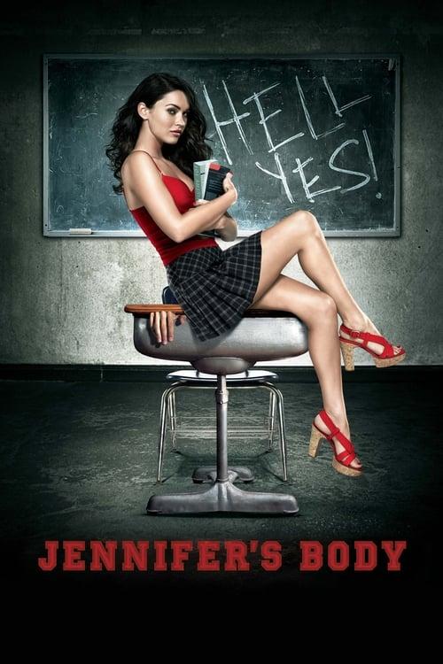 The poster of Jennifer's Body