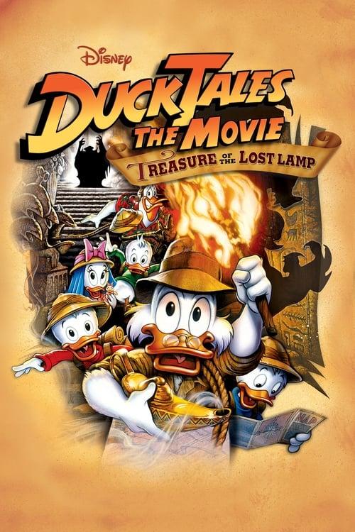 Watch DuckTales: The Movie – Treasure of the Lost Lamp (1990) Movie Free Online