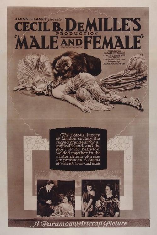 Regarder Le Film Male and Female Entièrement Gratuit