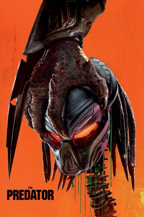 Poster. The Predator (2018)