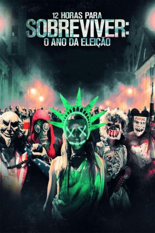 Assistir Uma Noite De Crime 3: Ano de Eleição HD 720p Dublado & Legendado Online Grátis HD