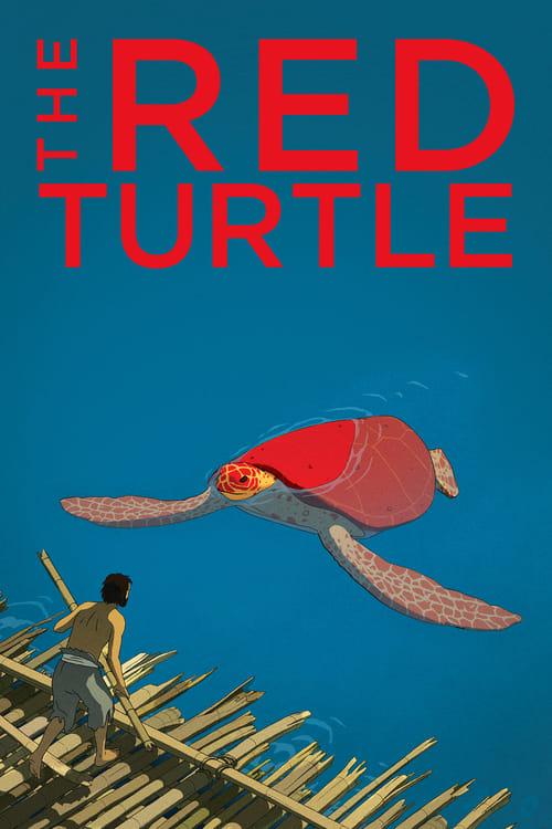 La tortue rouge Movie Poster