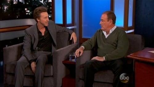 Jimmy Kimmel Live 2015 Hd Tv: Season 13 – Episode Edward Norton, Al Michaels, The Decemberists