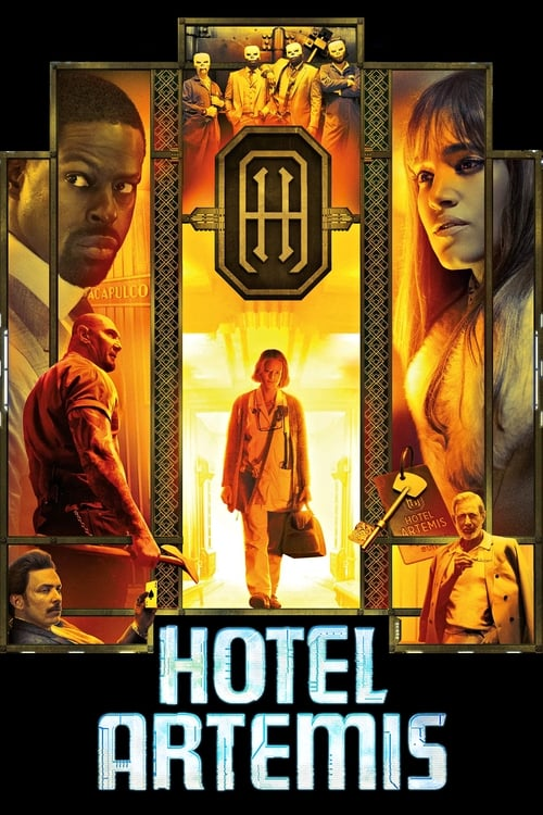 Largescale poster for Hotel Artemis