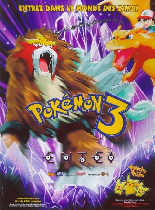 Regarder Pokémon 3 : Le Sort des Zarbi (2000) streaming film en français