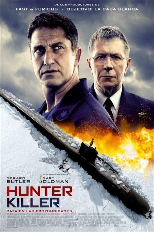Hunter Killer (Caza en las profundidades) [Castellano] [Latino] [Vose] [dvdrip] [rhdtv] [hd1080] [hd720] [ts]