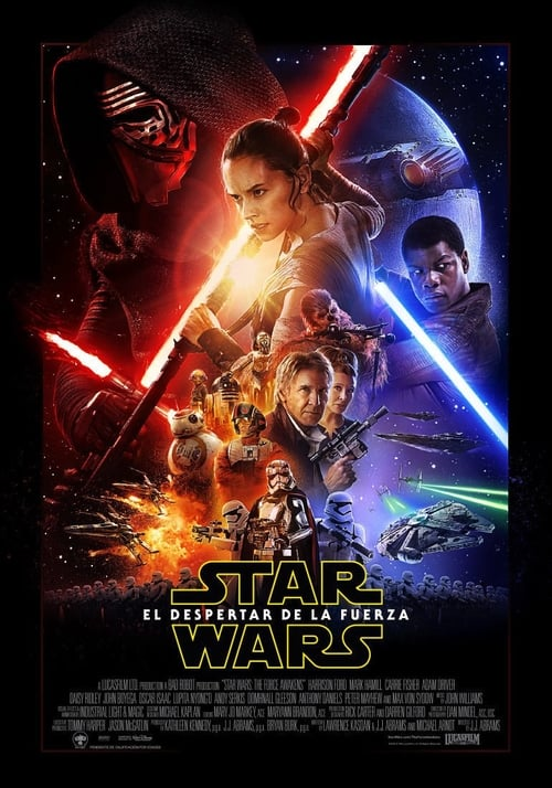 Star Wars: The Force Awakens pelicula completa