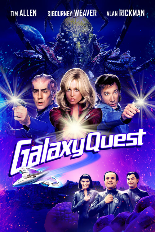 Poster. Galaxy Quest: 20th Anniversary Edition