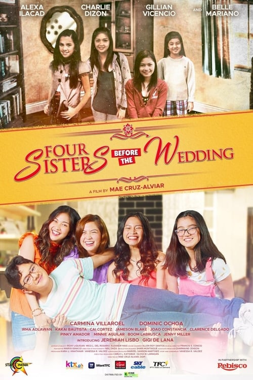 Four Sisters Before the Wedding