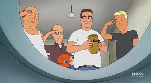 King Of The Hill 2009 Blueray: Season 13 – Episode Serves Me Right For Giving General George S. Patton The Bathroom Key