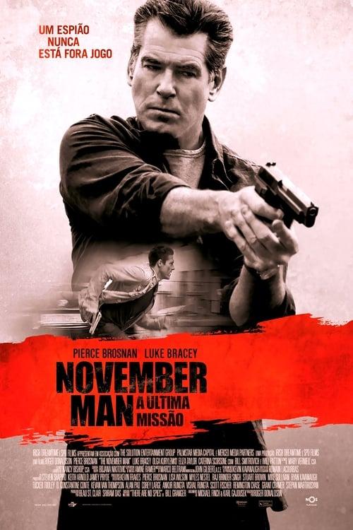 Assistir The November Man - A Última Missão Online