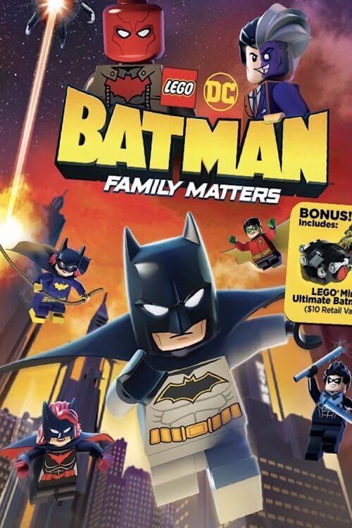 Watch LEGO DC: Batman - Family Matters Online Free Movie 4K