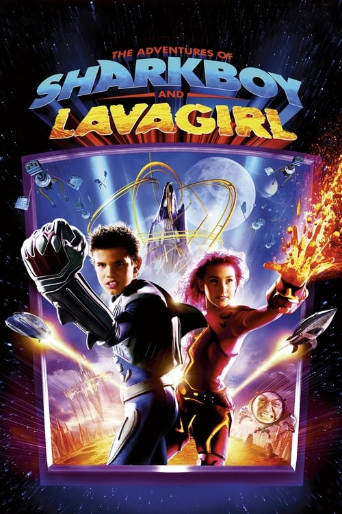 The Adventures of Sharkboy and Lavagirl - Poster