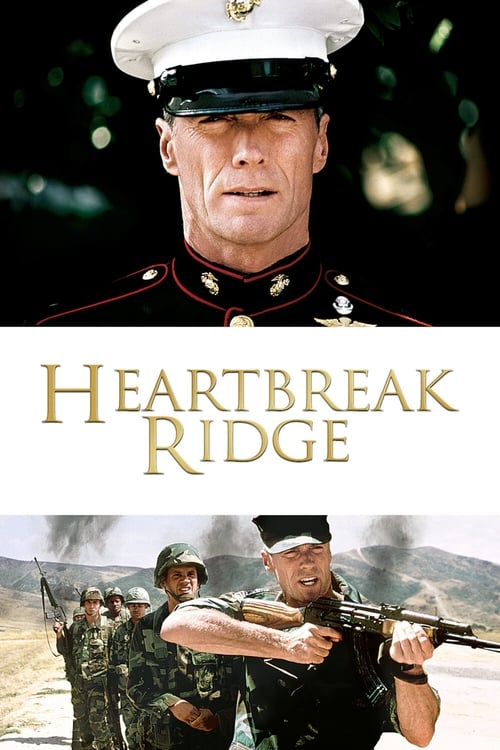 Heartbreak Ridge (1986) Poster
