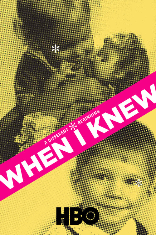 When I Knew poster