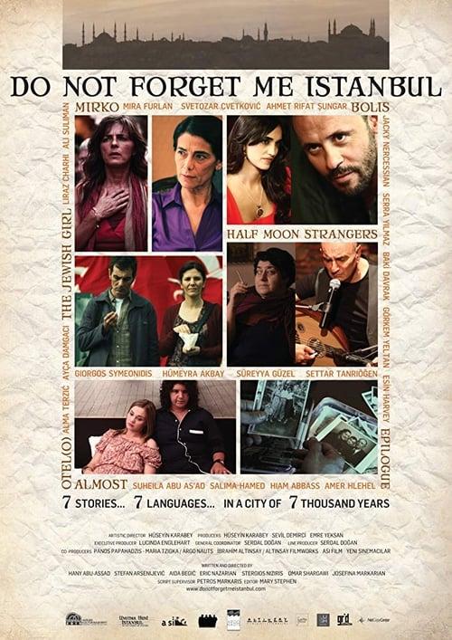 Película Do Not Forget Me Istanbul En Buena Calidad Hd