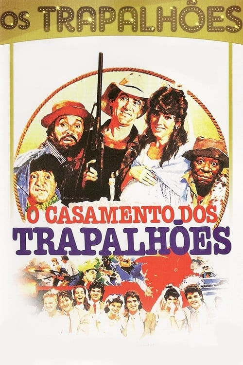 Largescale poster for O Casamento dos Trapalhões