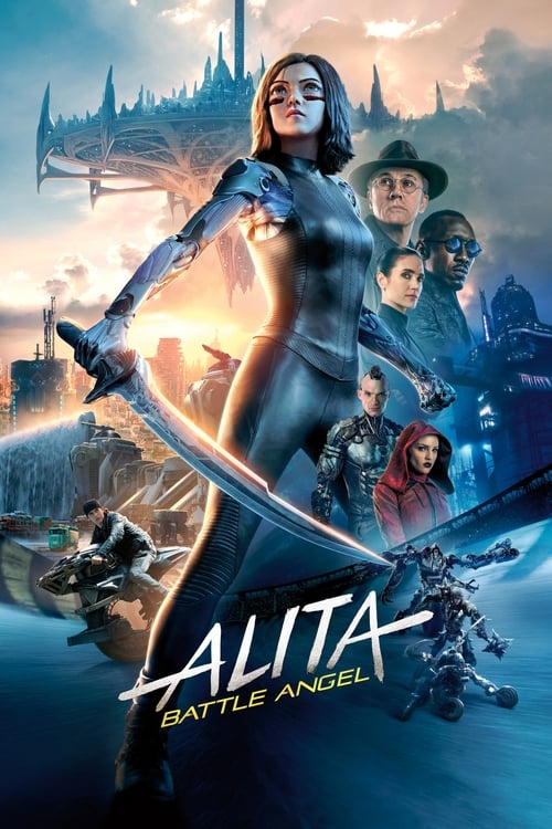 Poster. Alita: Battle Angel (2019)