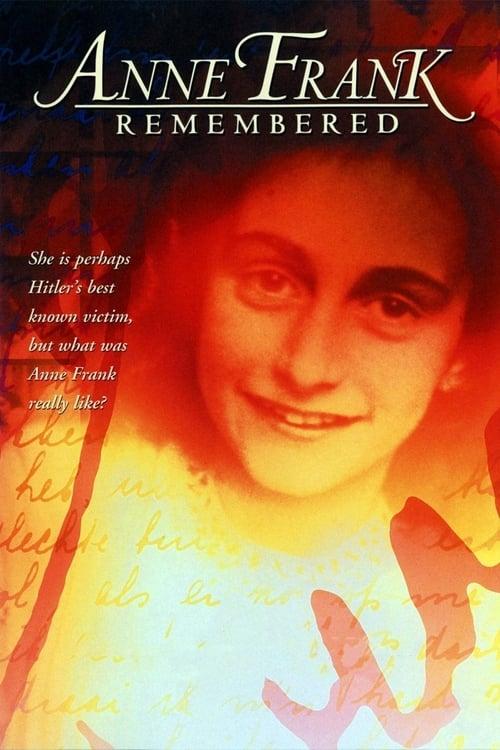 Película Anne Frank Remembered En Español En Línea