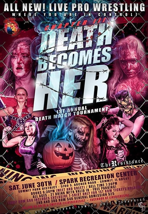 Filme Resistance/Girl Fight Chapter III: Death Becomes Her Female Deathmatch Tournament De Boa Qualidade